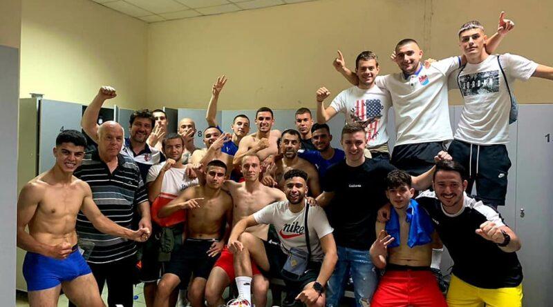 Футболен Асеновград празнува: ФК Асеновец се завърна в трета лига след 3:0 на баража
