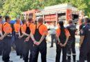 """Обучават 21 доброволци от новото формирование """"Асеневци""""  как да гасят пожар"""