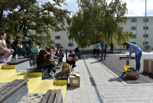 Екоакция с ученици в Асеновград, децата показаха знания по разделно сметосъбиране